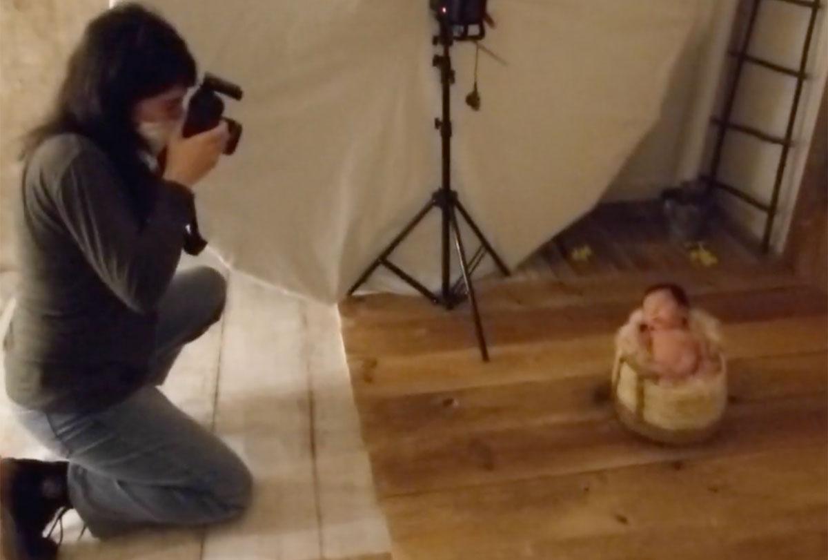 Sesiones de fotografia newborn en Badalona-Barcelona