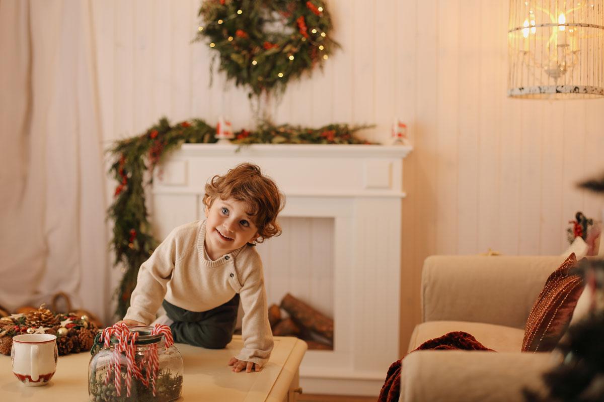 Estudio fotográfico, fotos Navidad Badalona